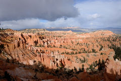 Sunset Point of Bryce Canyon National Park Royalty Free Stock Images
