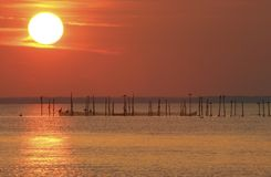 Sunset at Point Lookout Royalty Free Stock Photos