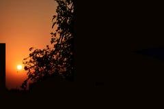 Sunset point Stock Image