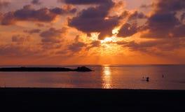 Sunset at Pokai Bay Royalty Free Stock Image