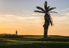 Sunset in Porto Stock Photography
