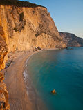 Sunset at Porto Katsiki Stock Photography