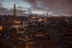 Porto at Night Stock Image