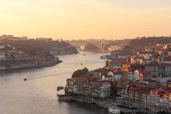 Sunset at Porto Royalty Free Stock Images