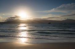 Sunset at Praia do Forte Beach - Florianopolis, Santa Catarina, Brazil. Sunset at Praia do Forte Beach in Florianopolis, Santa Catarina, Brazil stock image