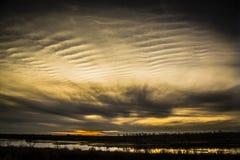 Sunset on the Prairies Royalty Free Stock Photo