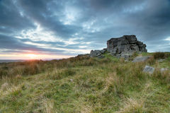 Sunset at Princetown Royalty Free Stock Photo