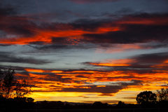 Sunset Pueblo, Colorado Stock Photography