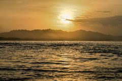 Sunset in Puerto Viejo Royalty Free Stock Photo