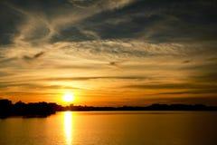 Sunset at Putrajaya I Royalty Free Stock Photography