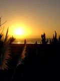 Sunset at Raglan, New Zealand Stock Photos