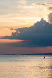 Sunset. At Railay in Thailand Stock Photo