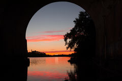 Free Sunset Raritan River Stock Photo - 97067400