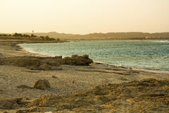 Sunset on the Red Sea Royalty Free Stock Photo