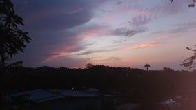 Sunset. Red sky sunset Royalty Free Stock Photos