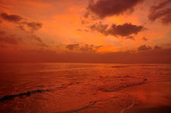 Sunset in red Royalty Free Stock Images