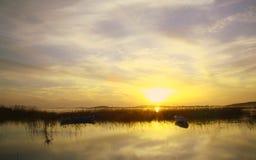 Sunset - background Stock Image