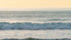 Sunset on Rialto Beach stock footage