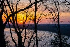 Sunset River Stock Photos
