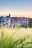Sunset in Rodez, France Stock Photos