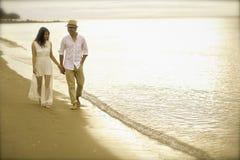 Sunset Romance Stock Photography