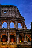 Sunset of Rome Colosseum Royalty Free Stock Images