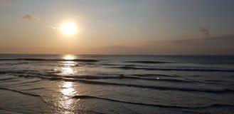 Sunset& x27; s-gloria arkivfoton