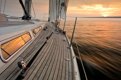 Sunset Sailing Royalty Free Stock Image