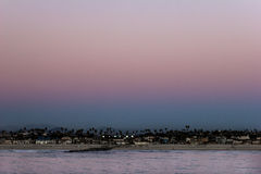 Sunset, San Diego Royalty Free Stock Images