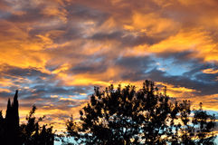 Sunset in San Jacinto Royalty Free Stock Images