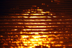 Sunset Sand Stock Images