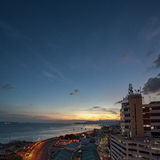 Sunset at Sandakan Stock Images