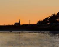 Sunset in Santa Cruz Stock Image