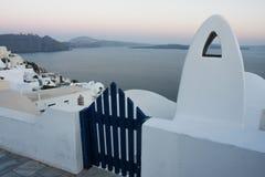Sunset in Santorini Greece Royalty Free Stock Photo