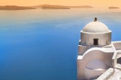 Sunset Santorini Stock Images