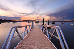 Sunset at Saratoga Australia Stock Photography