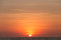 Sunset scape for background. Royalty Free Stock Images