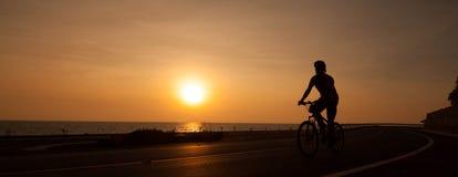 Sunset scene Stock Image