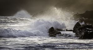 Free Sunset Scene On Rocky Beach Of South Wales Coast,Uk Royalty Free Stock Photo - 155142575