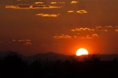 Sunset scene Royalty Free Stock Photos