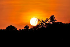 Sunset scenery Royalty Free Stock Images