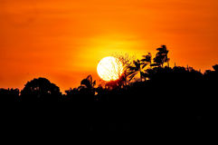 Sunset scenery Royalty Free Stock Photos
