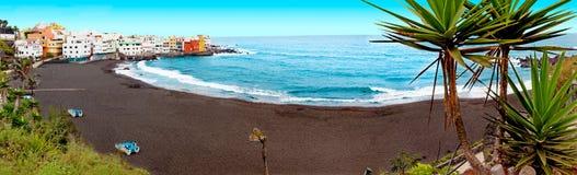 Scenic landscape.Canary island  Seascape.Tenerife. Royalty Free Stock Image