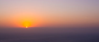 Sunset scenery Stock Photos
