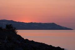 Sunset sea Royalty Free Stock Photo