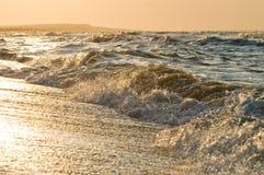 Sunset sea Stock Photos