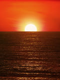 Sunset and The Sea Royalty Free Stock Images