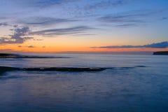 Sunset Sea And Rocks Stock Image