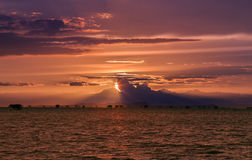 Sunset and Sea. Royalty Free Stock Image