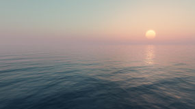 Sunset and sea. Stock Image